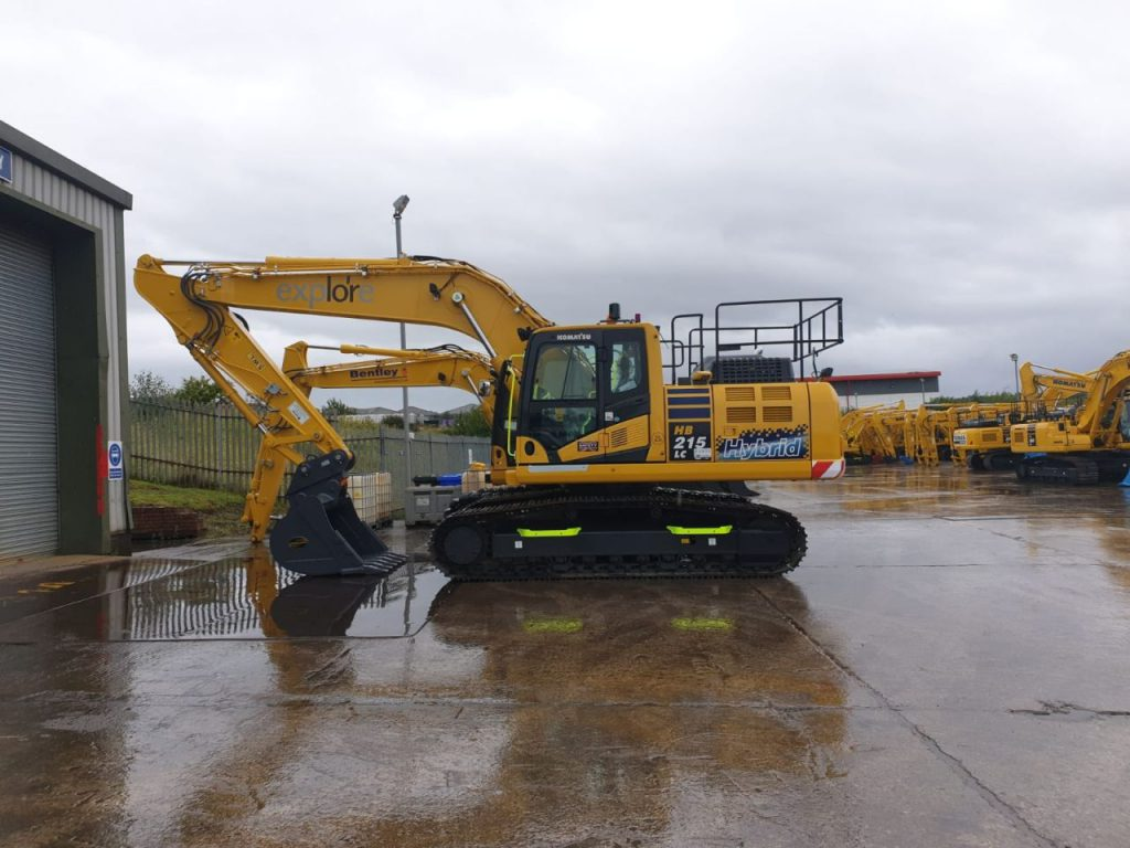 XWATCH fitted plant machinery