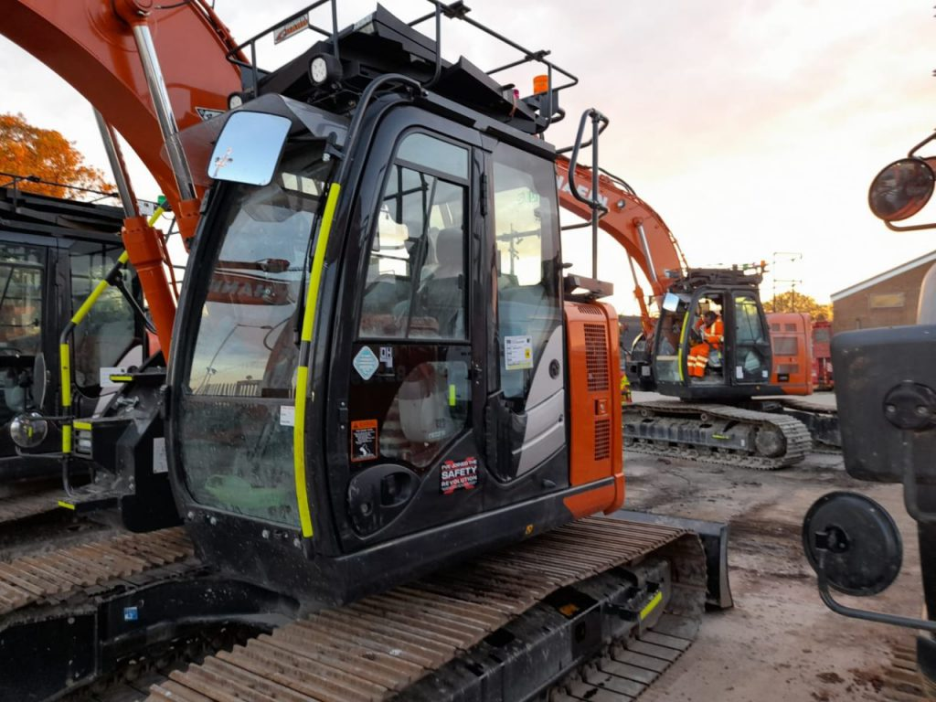 XWATCH safety system on plant machinery