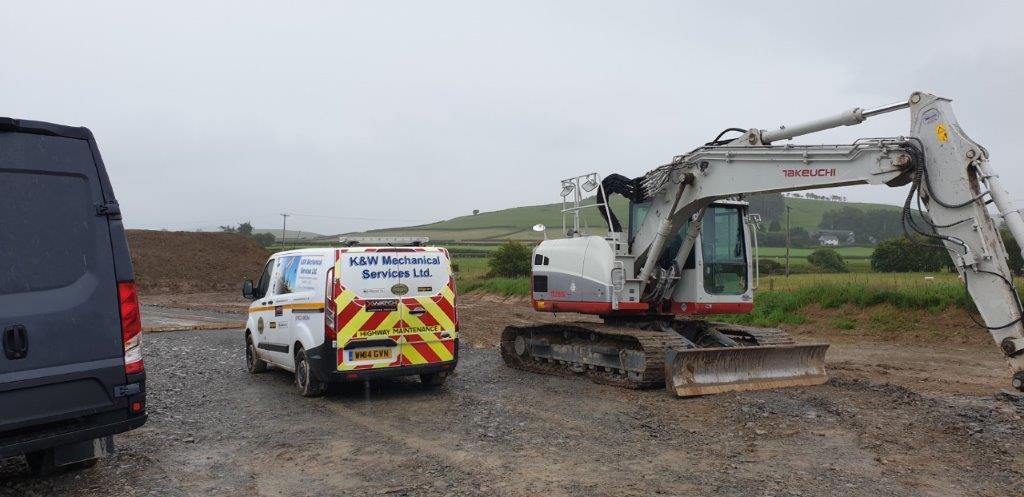 Plant machinery inspection by K&W Mechanical