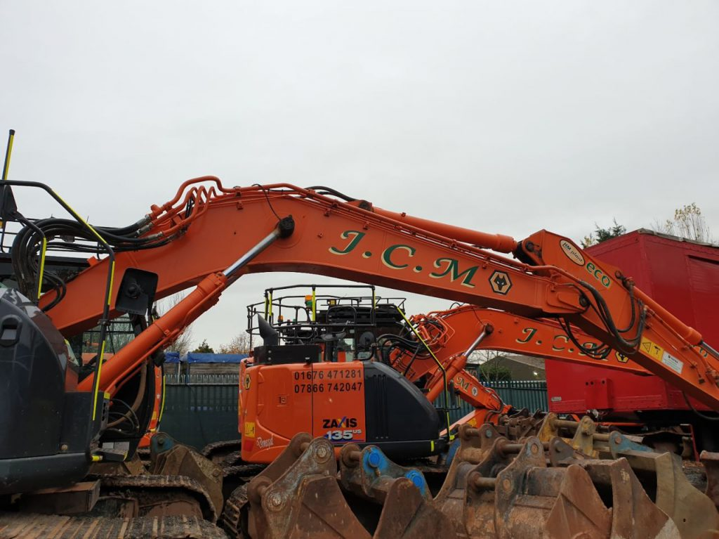 Prolec for heavy plant machinery