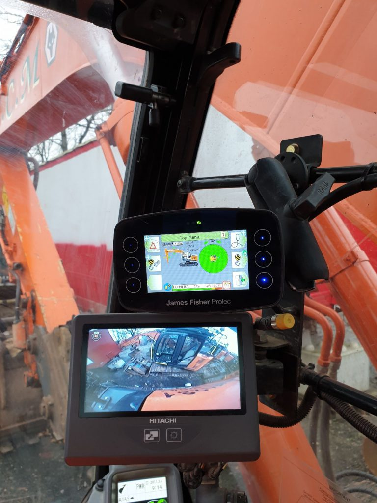 Prolec monitor device in cabin